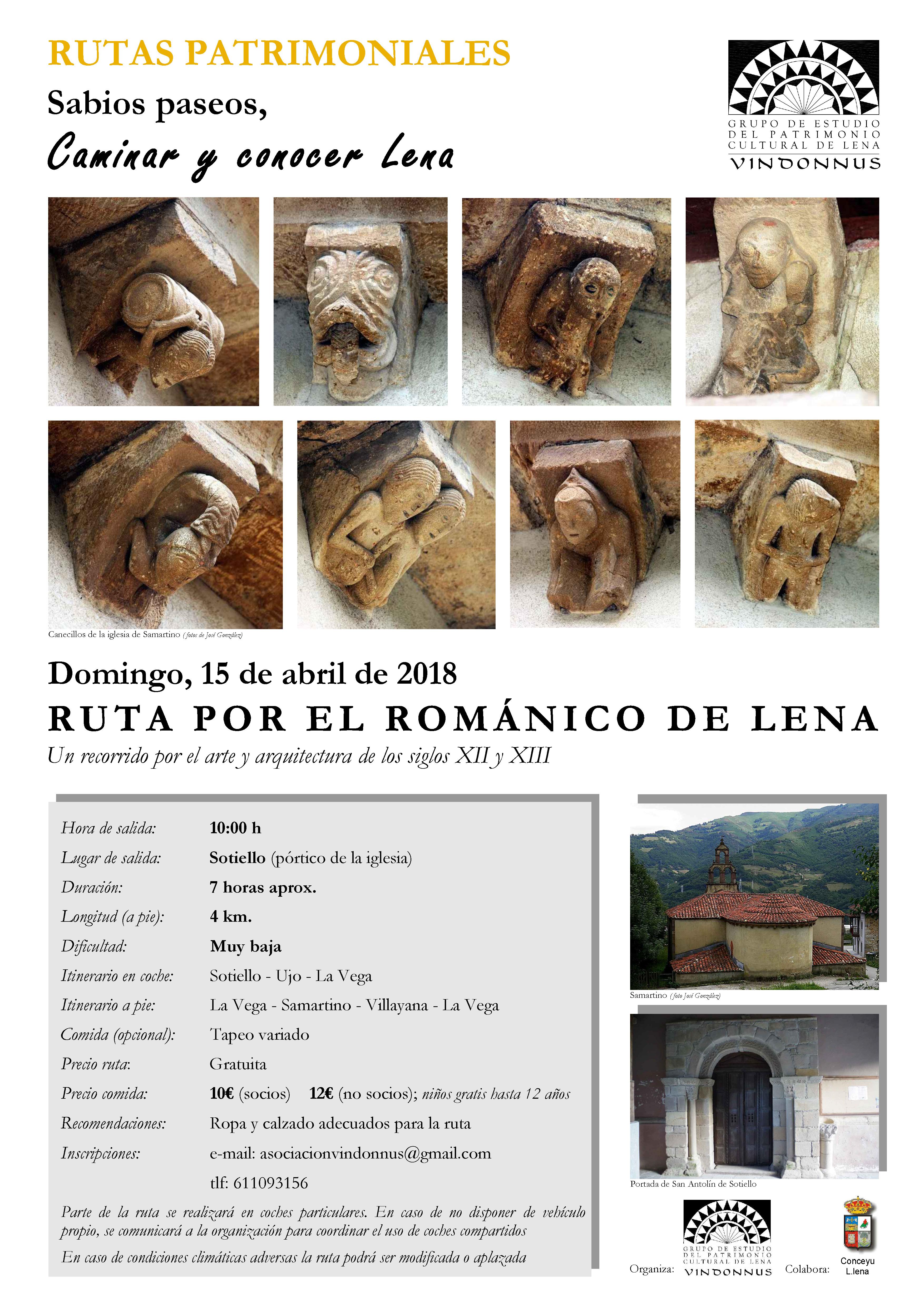 Ruta del románico de Lena