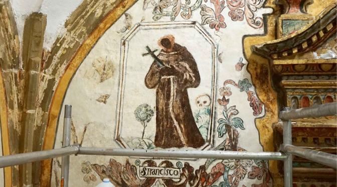 RESTAURACIÓN EN PROCESO II. Visita interpretativa a las pinturas murales de Bendueños