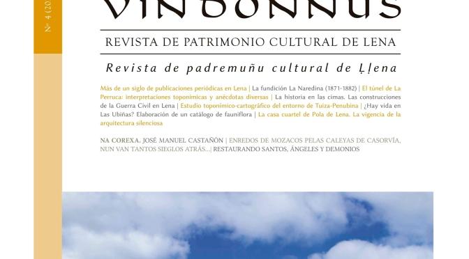 PRESENTACIÓN VIRTUAL DE LA REVISTA VINDONNUS Nº4 (24/2/2021, 19:30 h)
